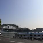 Pont enjambant le Rhin