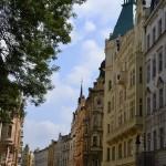 Une jolie rue de Prague