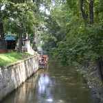 Un parc tranquille dans Mala Strana