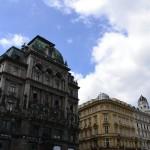 Vienne, ses rues vastes, ses batiments imposants