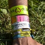 Bracelets du festival