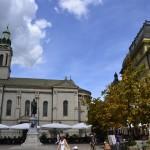 Une petite place dans Zagreb