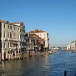 Le Grand Canal, depuis le pont de l'Academie